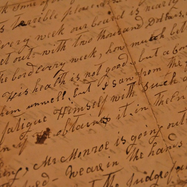 Letter Written By Andrew Jackson