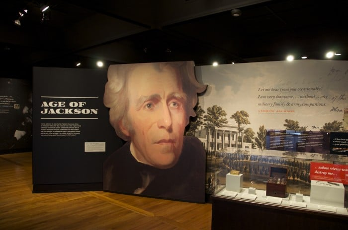 Born for a Storm Exhibit - Age of Jackson