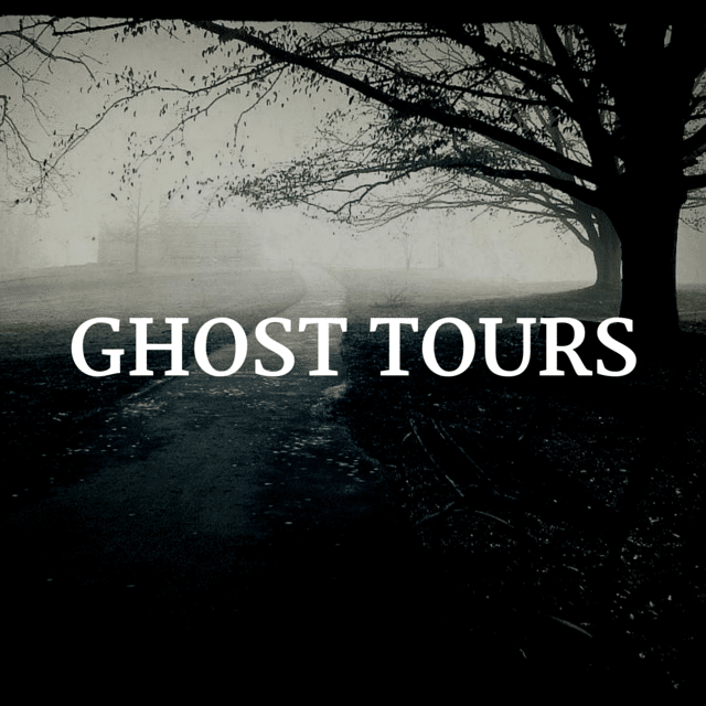 Ghost tour dates