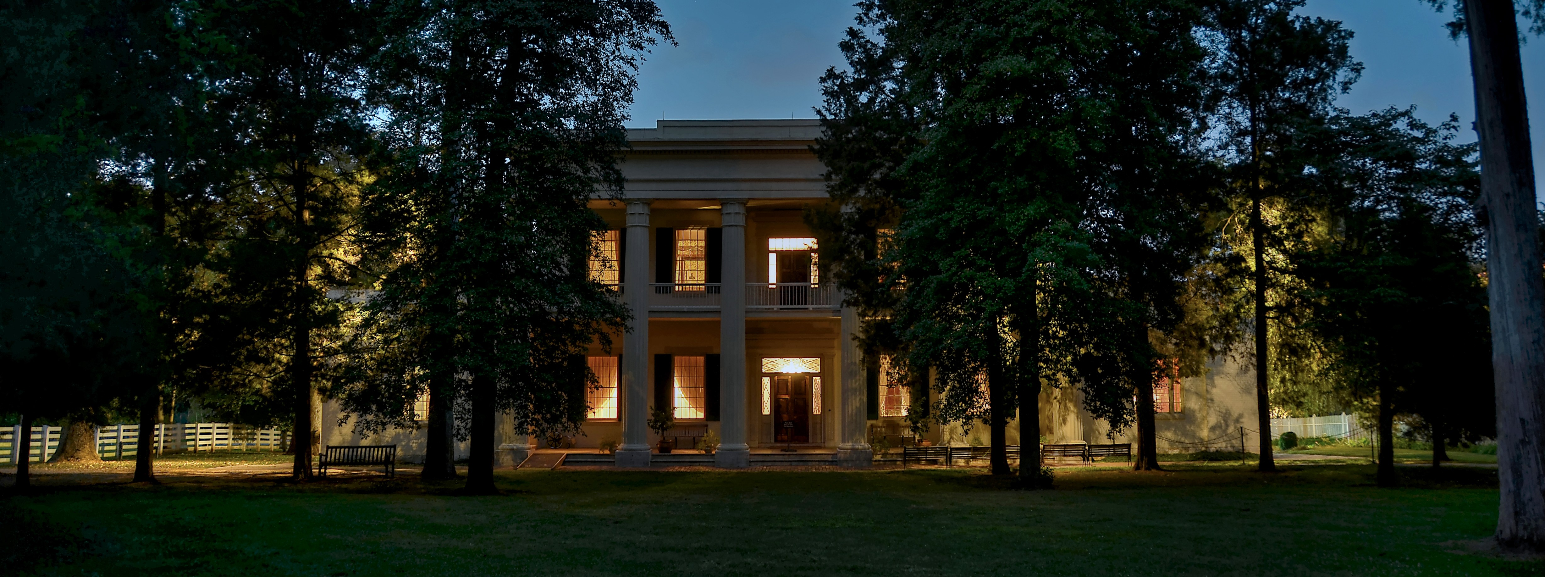 Andrew jackson 39 s hermitage mansion grounds for Hermitage house