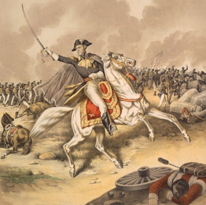 Portrait of General Andrew Jackson on His War Horse