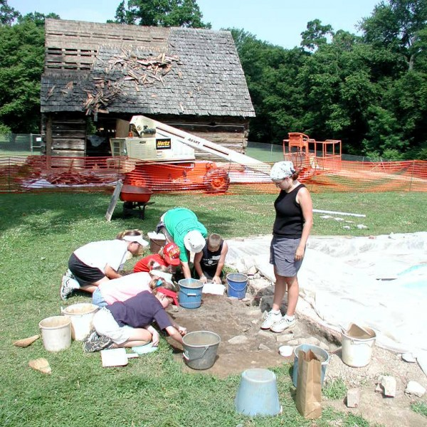 Archaeologists Work To Excavate More of The First Hermitage