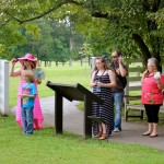 Visitors Tour The Hermitage Grounds