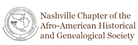Nashville Chapter of Afr-American History and Genealogical studies is a sponsor for our Black History month celebration.