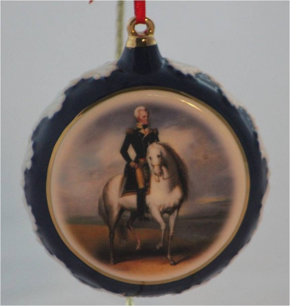 General Jackson Christmas Ornament
