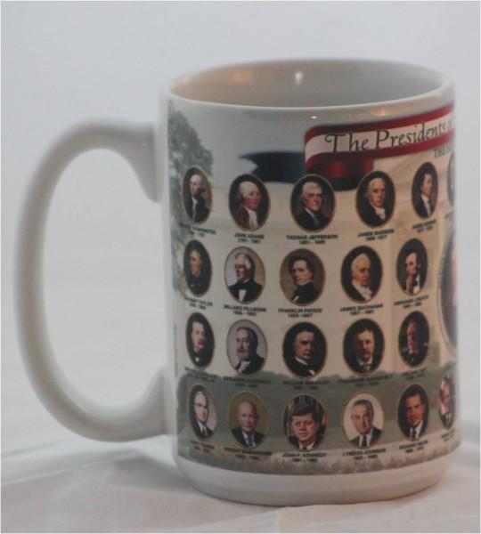 Presidential mug