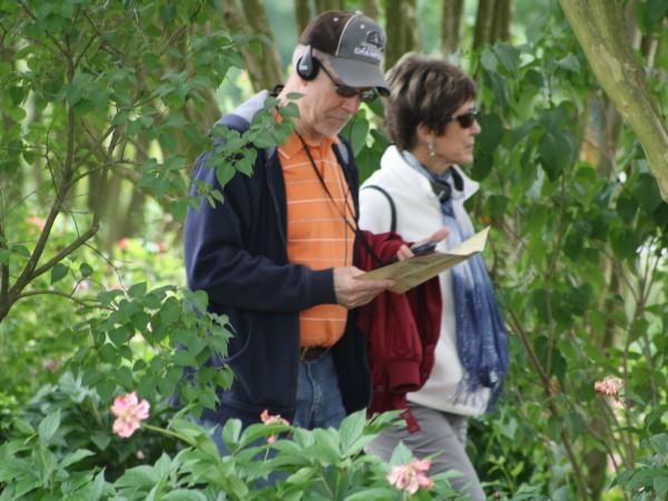 A Couple Takes the Audio Tour at The Hermitage