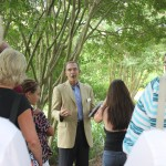 Hermitage CEO, Howard, Meets with an Lantern Evening Tour Group