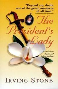 The President's Lady - Book Cover