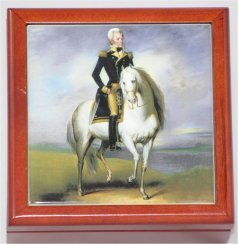 Porcelain Box of Andrew Jackson