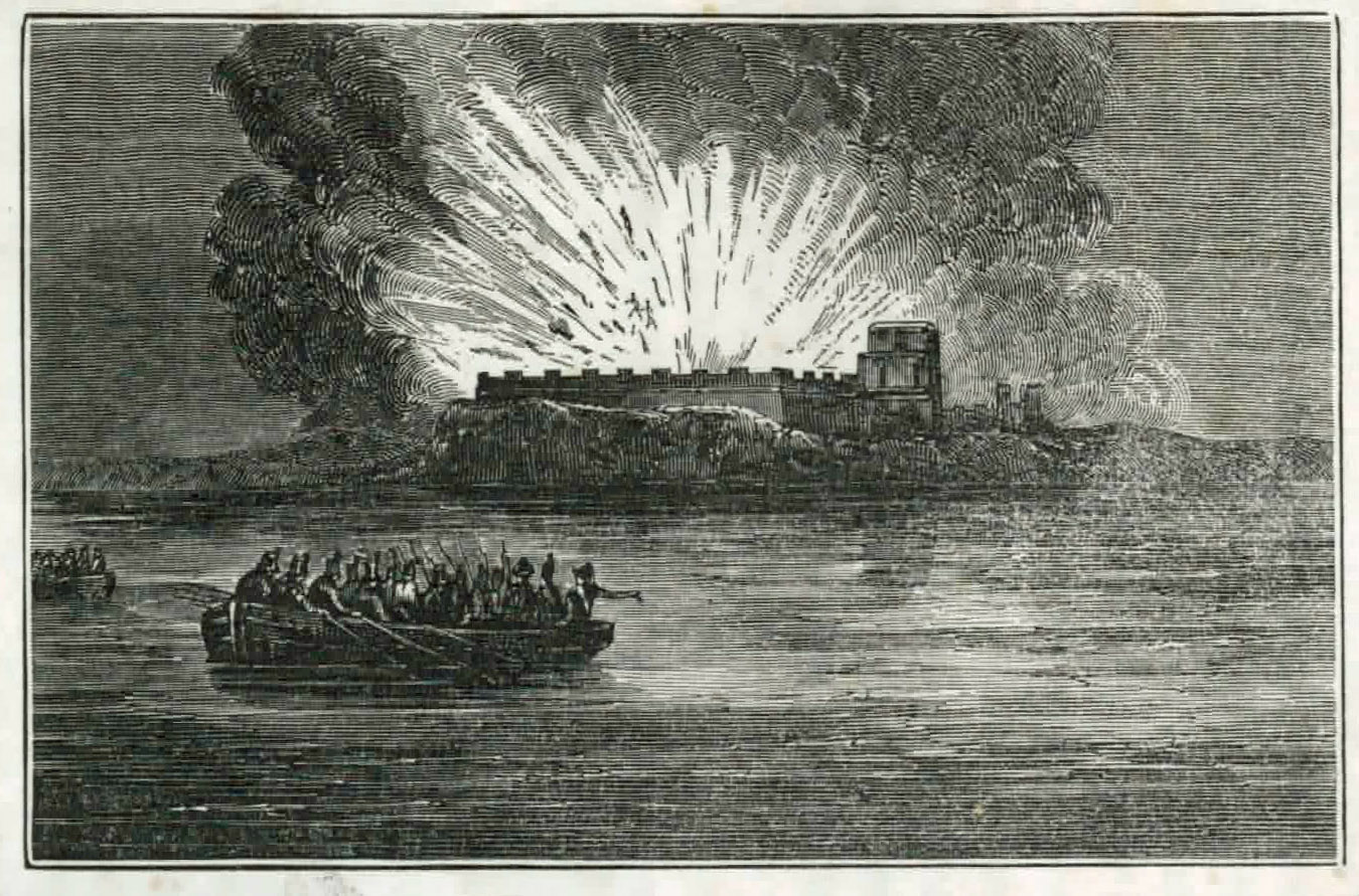 Fort Barancas Explosion
