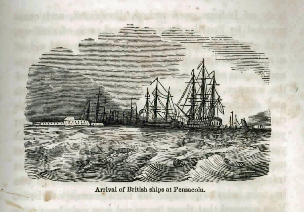 British ships at Pensacola