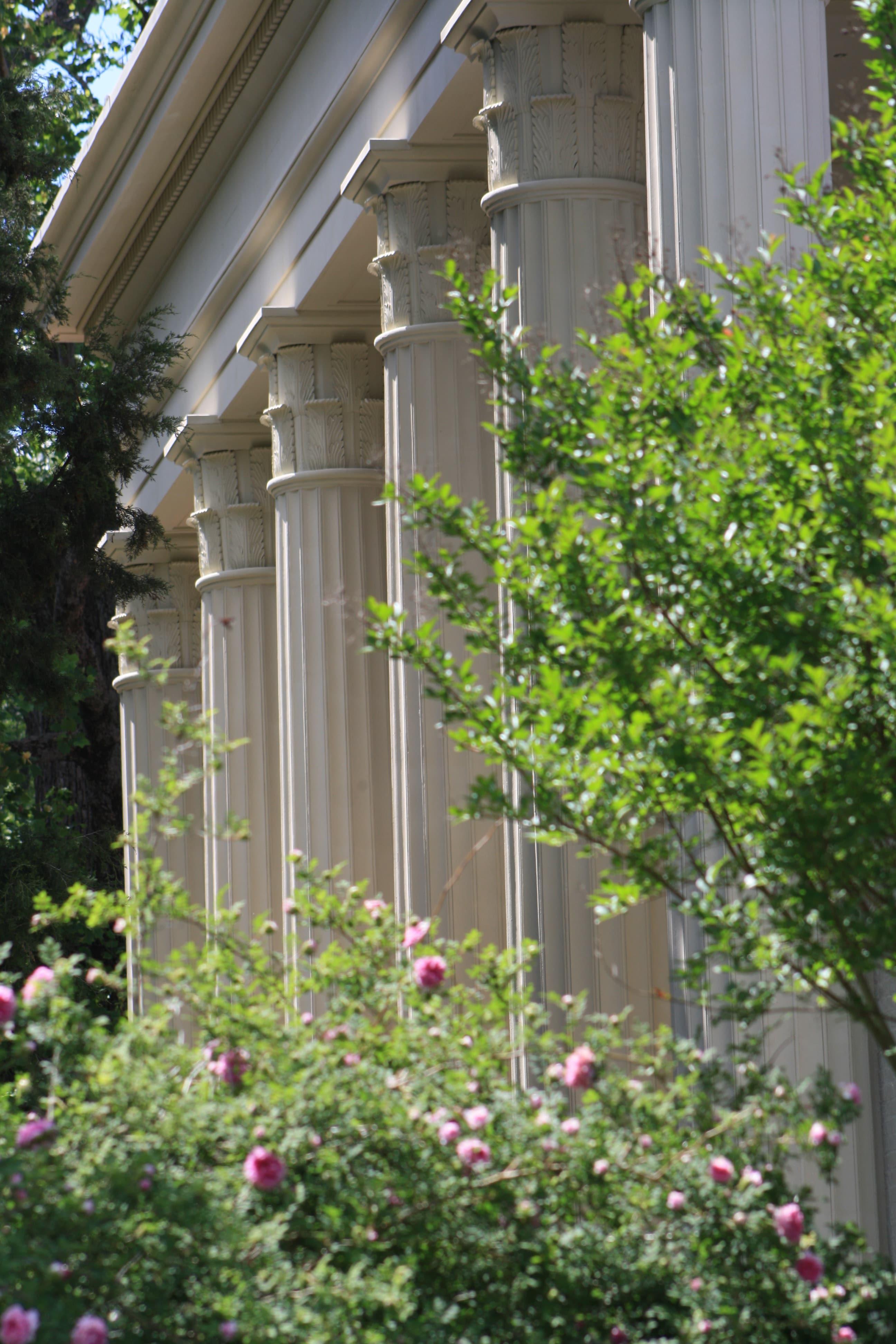 Hermitage mansion columns