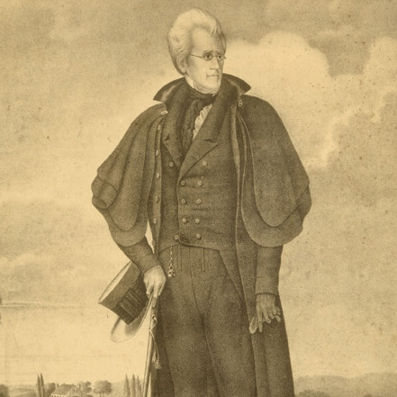 Portrait of Andrew Jackson on His Plantation