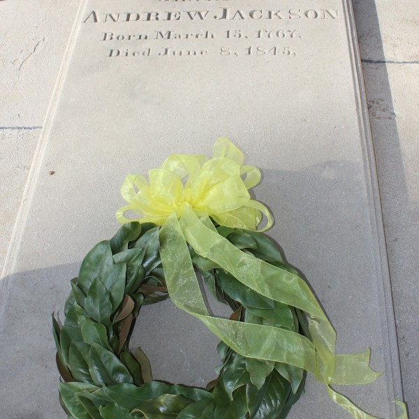 The Tombstone of President Andrew Jackson's Grave