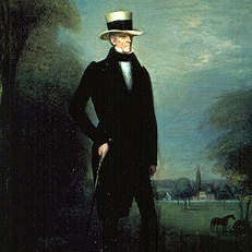 Portrait of Andrew Jackson Standing Tall