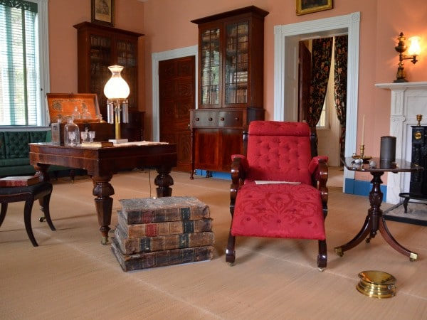 Andrew Jackson's Study Including Some of His Personal Possessions