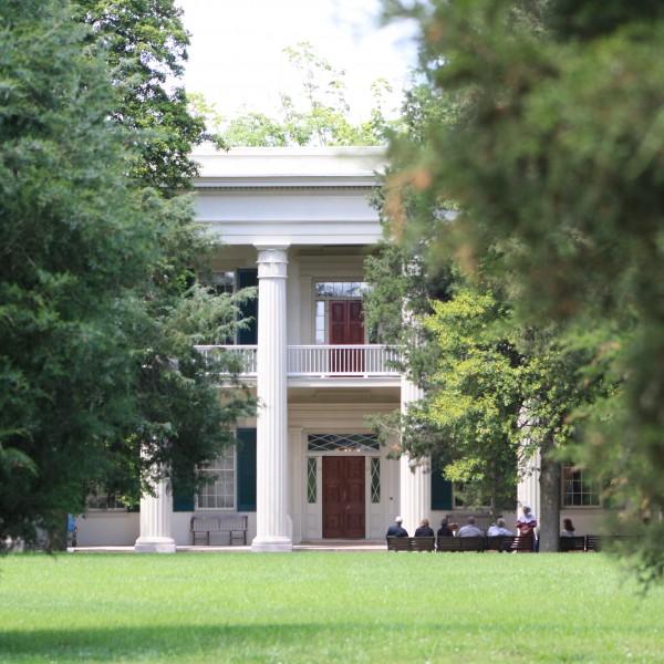 Andrew Jackson's Hermitage Mansion Through the Trees hermitage press releases