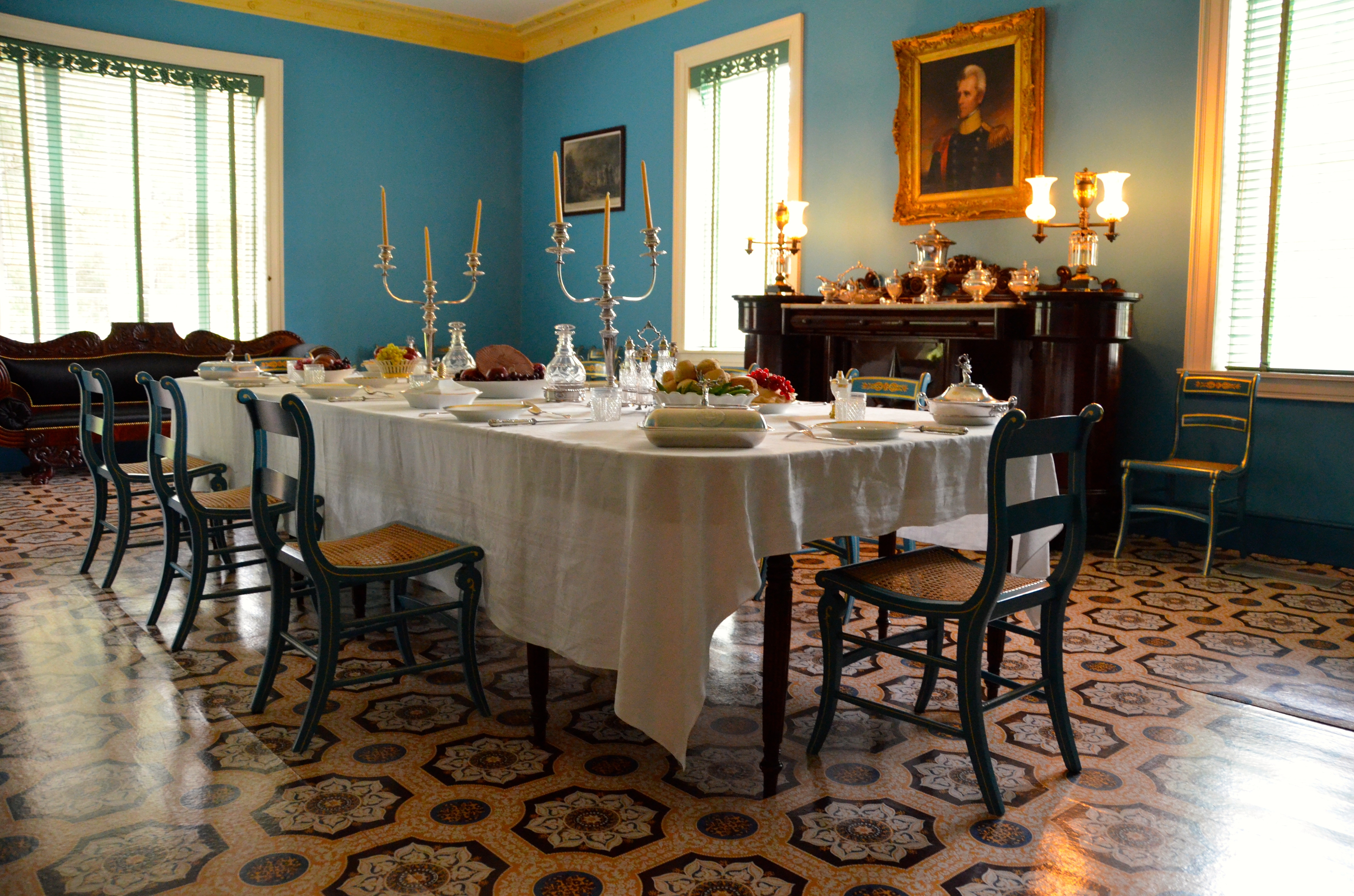 Modern School Classroom ~ Room by mansion of andrew jackson the hermitage