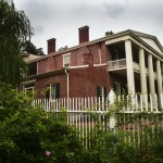 Side View of Andrew Jackson's Hermitage Mansion