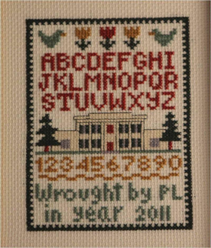 Alphabet Needlework kit