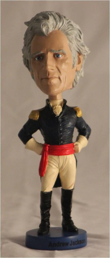 Andrew Jackson Bobble Head