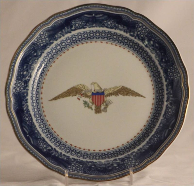 Blue Eagle Plate