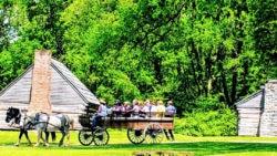 Wagon tour