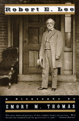 Robert E. Lee by Emory M. Tomas - Book Cover