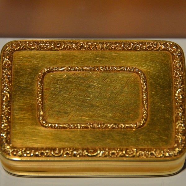 Andrew Jackson's Gold Box