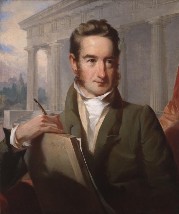 William_Strickland_by_John_Neagle_1829
