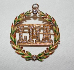Ladies Hermitage Association Pin Mary Dorris