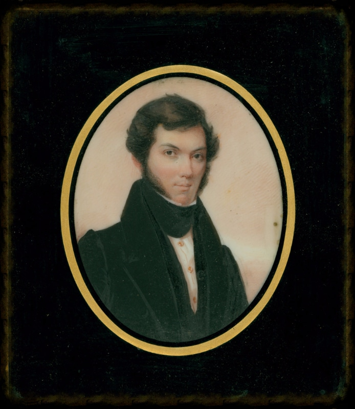 Miniature of Thomas Jefferson Donelson c. 1835