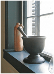 Mortar and Pestle Date unknown