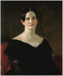 Sarah Yorke Jackson (1805-1887) in 1845, painted by G.P. A. Healy