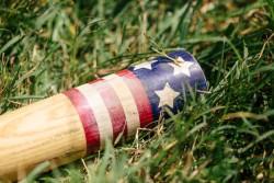 Vintage American base ball bat