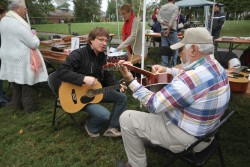 Fall Fest musicians at the Hermitage