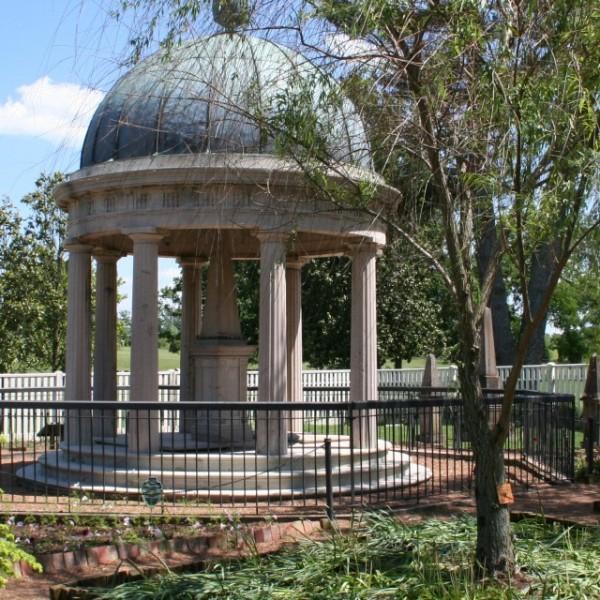 Andrew Jackson's garden tomb
