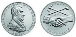 Andrew Jackson Silver Coin